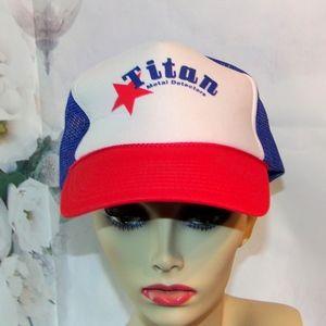 Titan Metal Detectors Hat Baseball Cap Hat Vintage